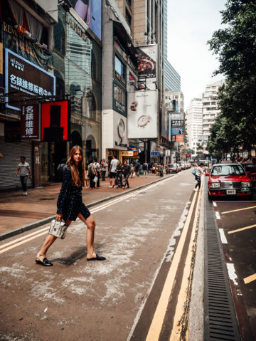 Hong Kong Streetstyle Sommer