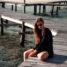 Gorontalo Urlaubsoutfit: schwarzes Strandkleid