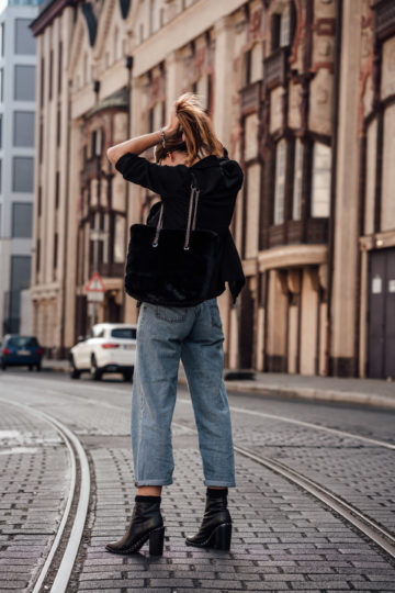 styling Baggy pants
