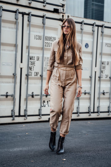 How to wear a military overall this autumn