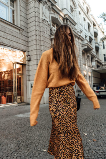 How to wear Leopard Print in Winter