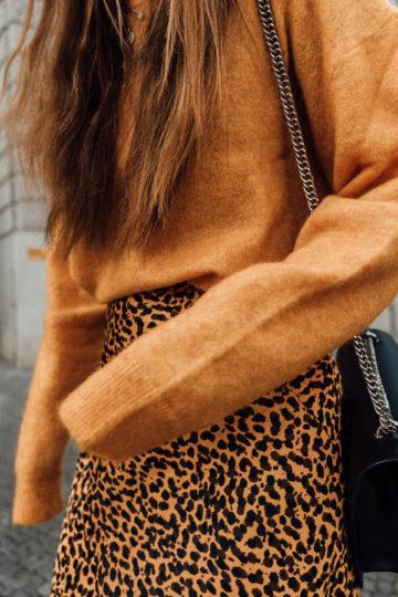 Wie trägt man Leopard Print