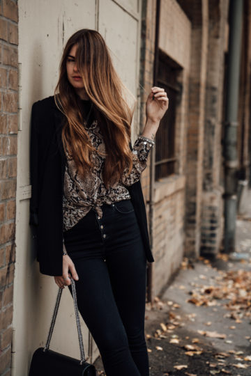 casual chic autumn outfit