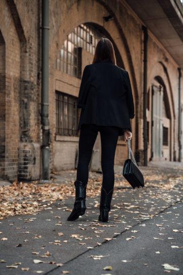 Wie trägt man Schwarz im herbst