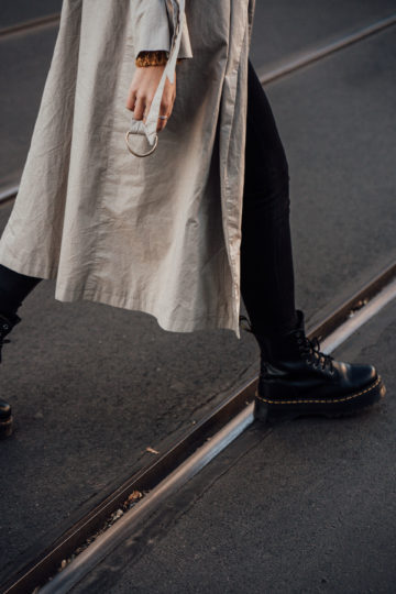 How to wear platform Boots