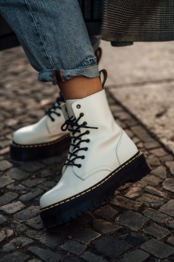 white Boots Trend autumn