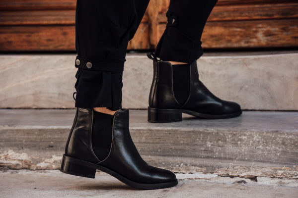 black Pepe JEans Boots