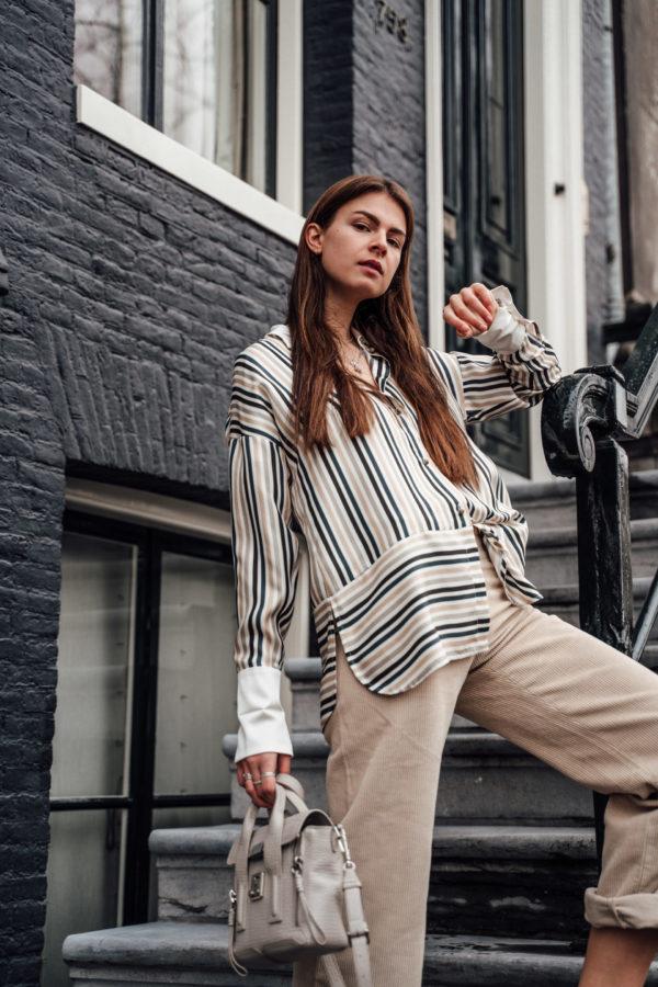 Weill Paris striped blouse