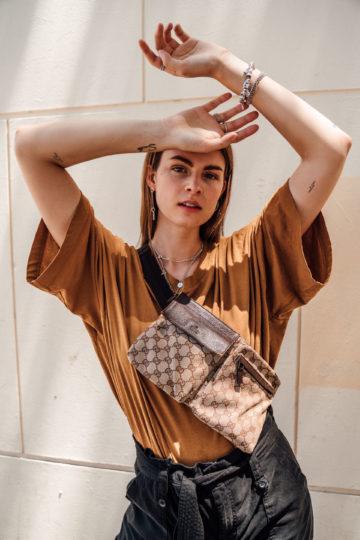 Vintage Designer Fanny Bag