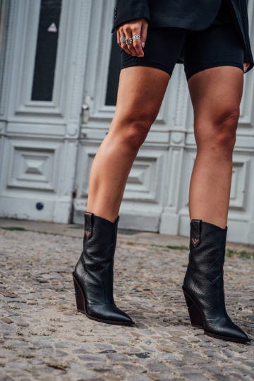 black Fendi Boots