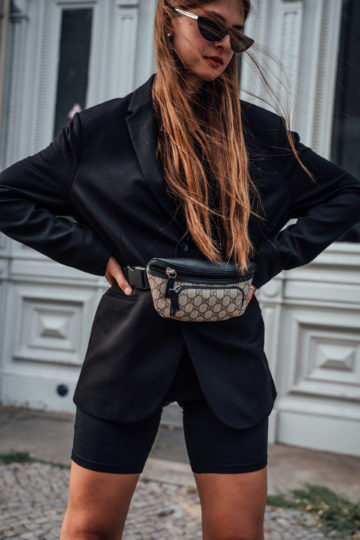 how to style a belt bag