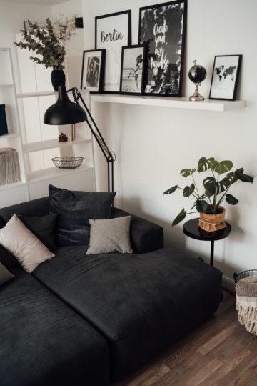 Sofa aus Webstoff