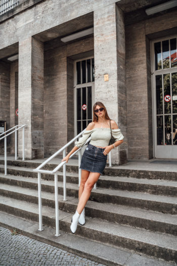 Preview : Wearing white boots in summer