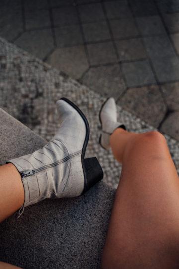 light grey Boots autumn