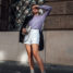 Between the seasons outfit: Combining Shorts and Boots