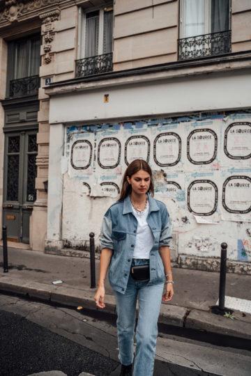 Wie trägt man eine Jeansjacke
