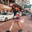 Mein Hongkong Outfit mit einer Balenciaga Denim Jacke