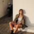 Zimmermann Shorts mit Schlangenprint kombiniert mit oversized Balmain Blazer
