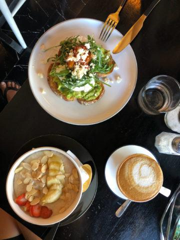 Cactus Café: Avocado Toast, Porridge
