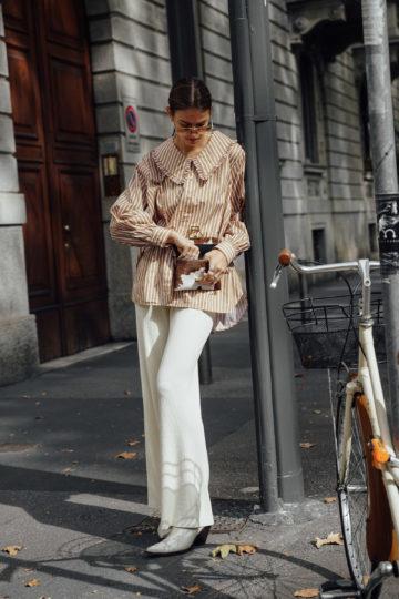 Die Blusen Trends für den Herbst 2020 – Blusen mit XXL-Kragen