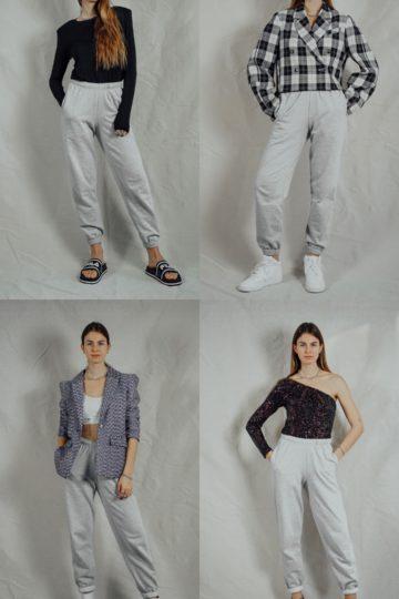 Silvester Outfit Ideen: so styled ihr eure Sweatpants für den Jahreswechsel